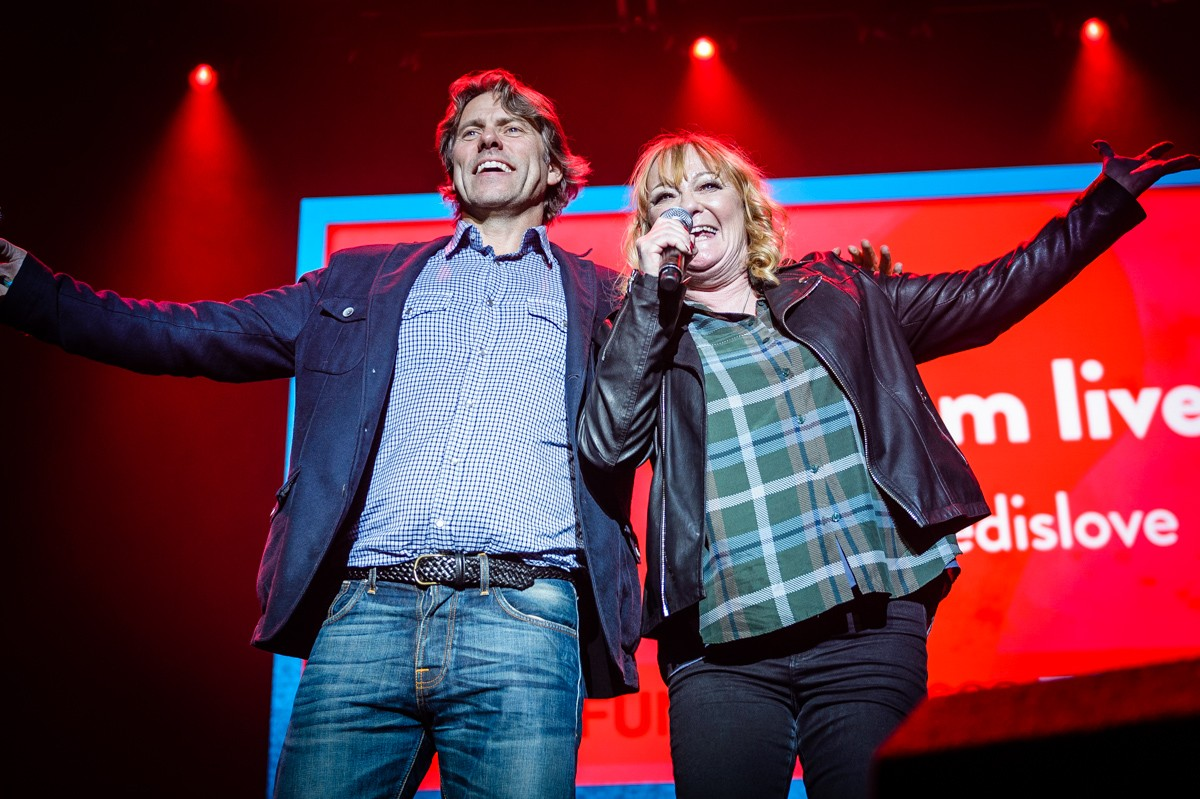 John Bishop & Janice Long host With Love From Liverpool