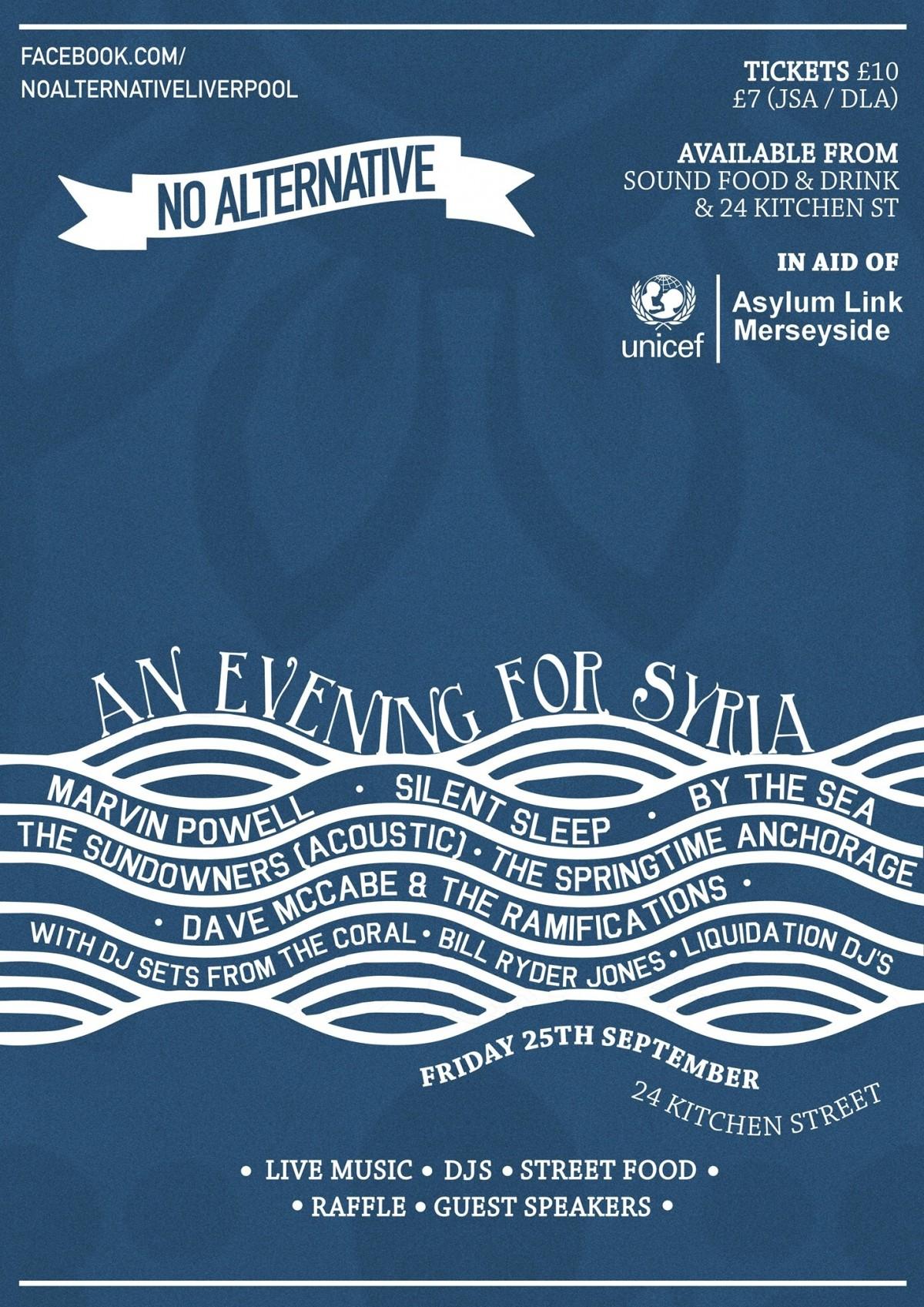 No Alternative - An Evening for Syria