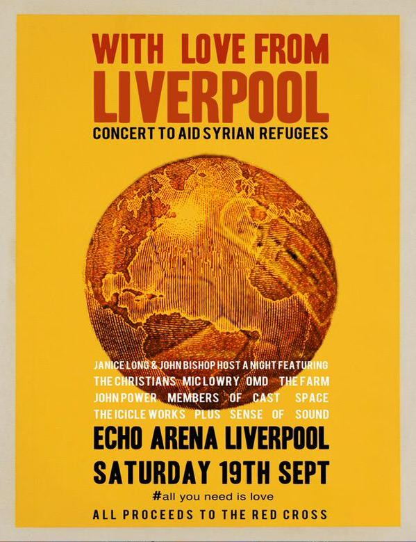 With Love From Liverpool concert at the Echo Arena