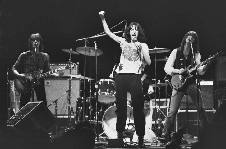 Patti Smith Group in New York 1975