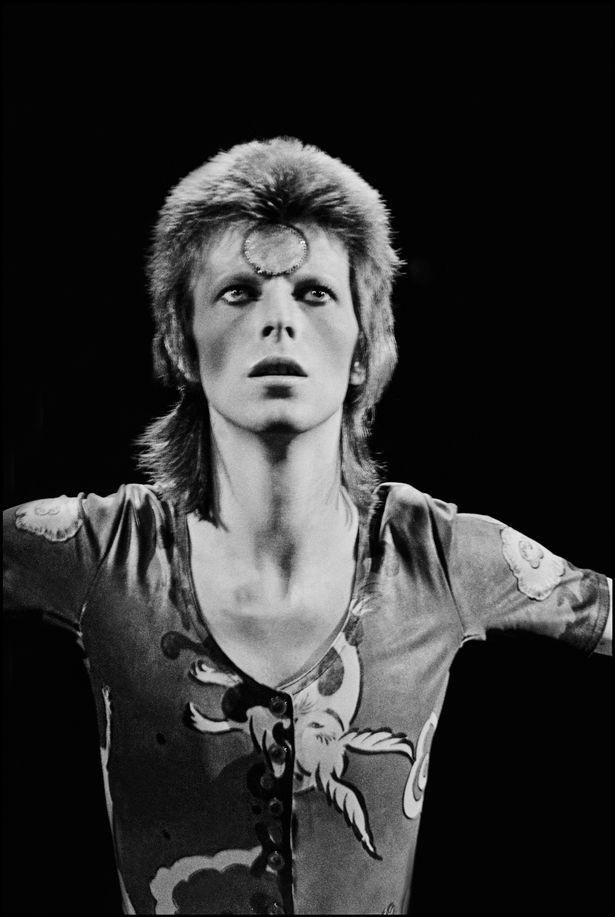 David Bowie (Copyright: Chalkie Davies)