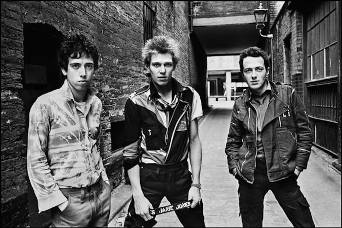 The Clash (Copyright: Chalkie Davies)