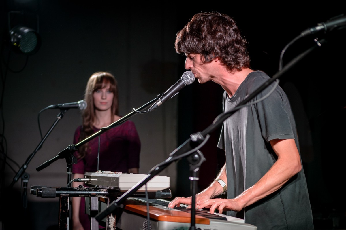 Euros Childs and Laura Martin at Leaf