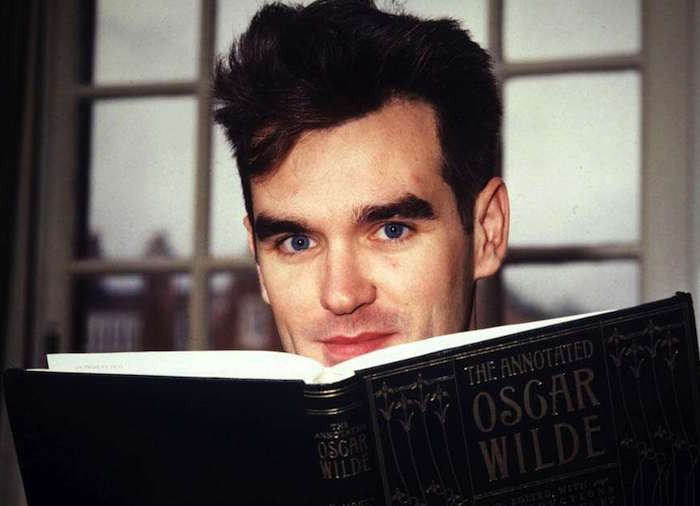 Morrissey the bookworm
