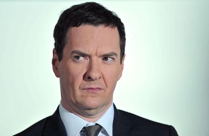 Massive prick, George Osborne