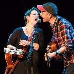 Trevor Moss and Hannah Lou