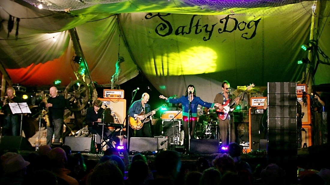 The Salty Dog Stage, the best place to shoot apparently