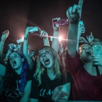 Fans watch The 1975 at Liverpool University
