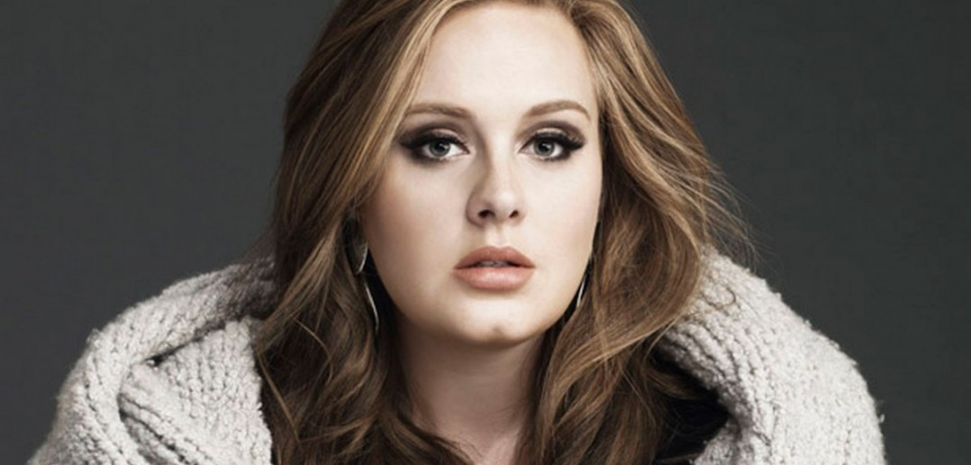 Adele - notably not smiling