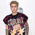 Justin Bieber sports a Nirvana t-shirt