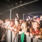 The crowd for Jaws at the O2 Academy 2