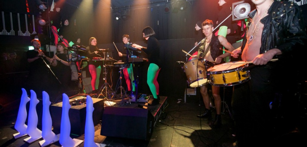 Stealing Sheep at one of their Mythopoeia shows
