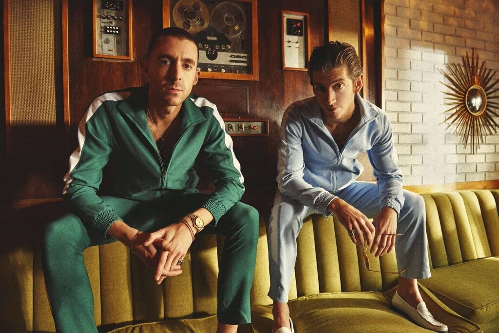 The Last Shadow Puppets: Miles Kane (left) and Alex Turner (right)