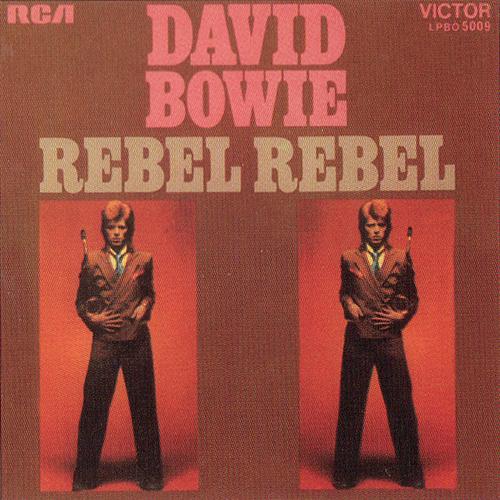 Original Rebel Rebel single cover
