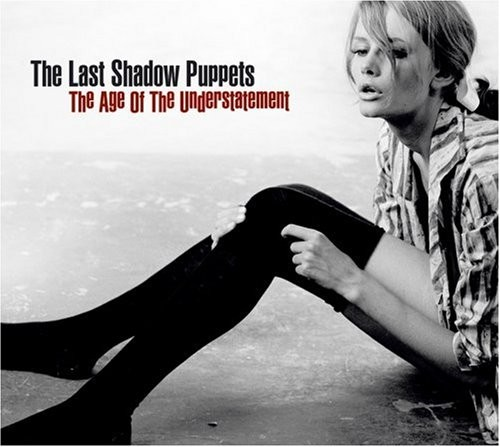 The Last Shadow Puppets debut album 'The Age Of The Understatement' artwork by Sam Haskins featuring model 'Gil' in 1962