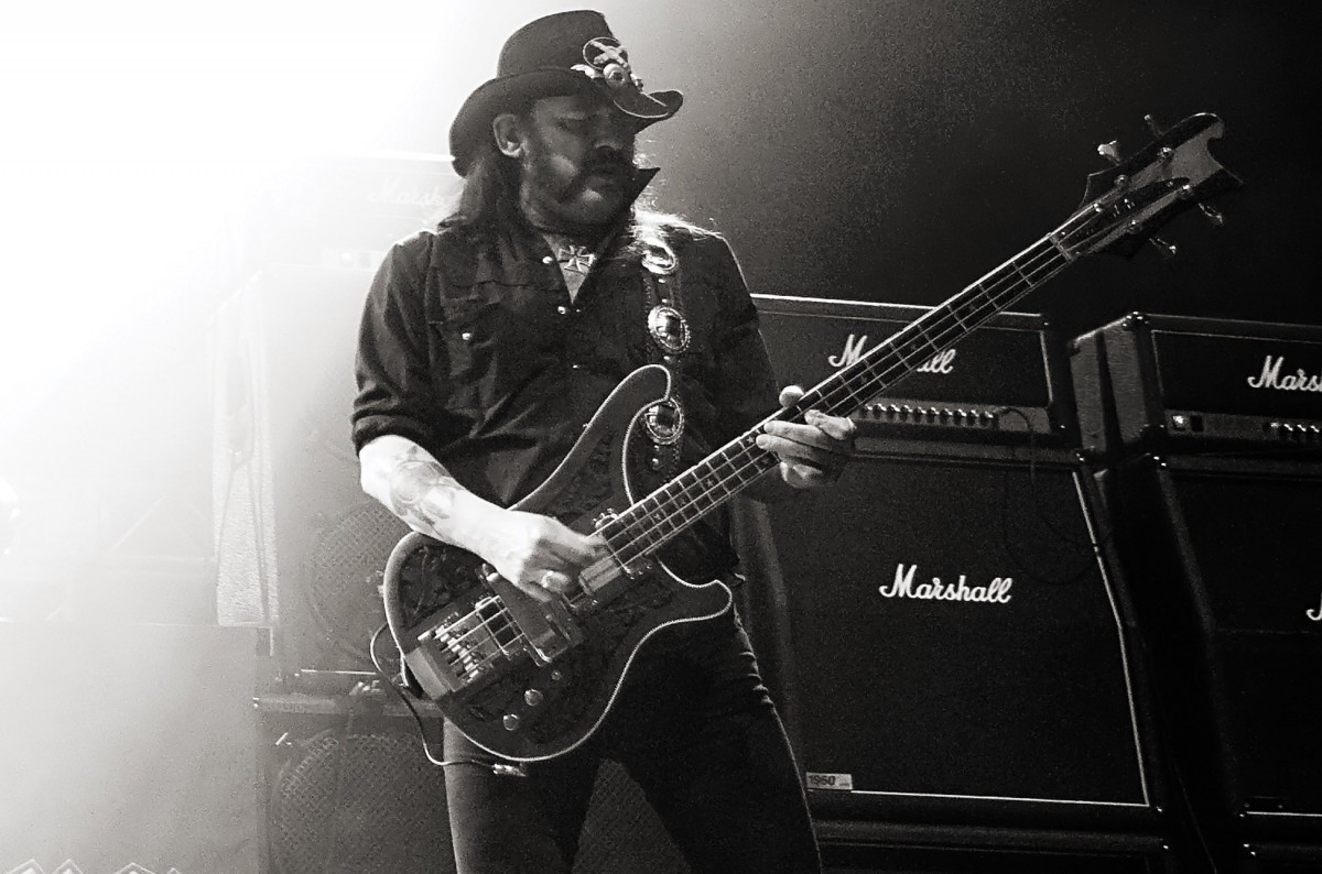 Lemmy - photograph by Mat Hayward