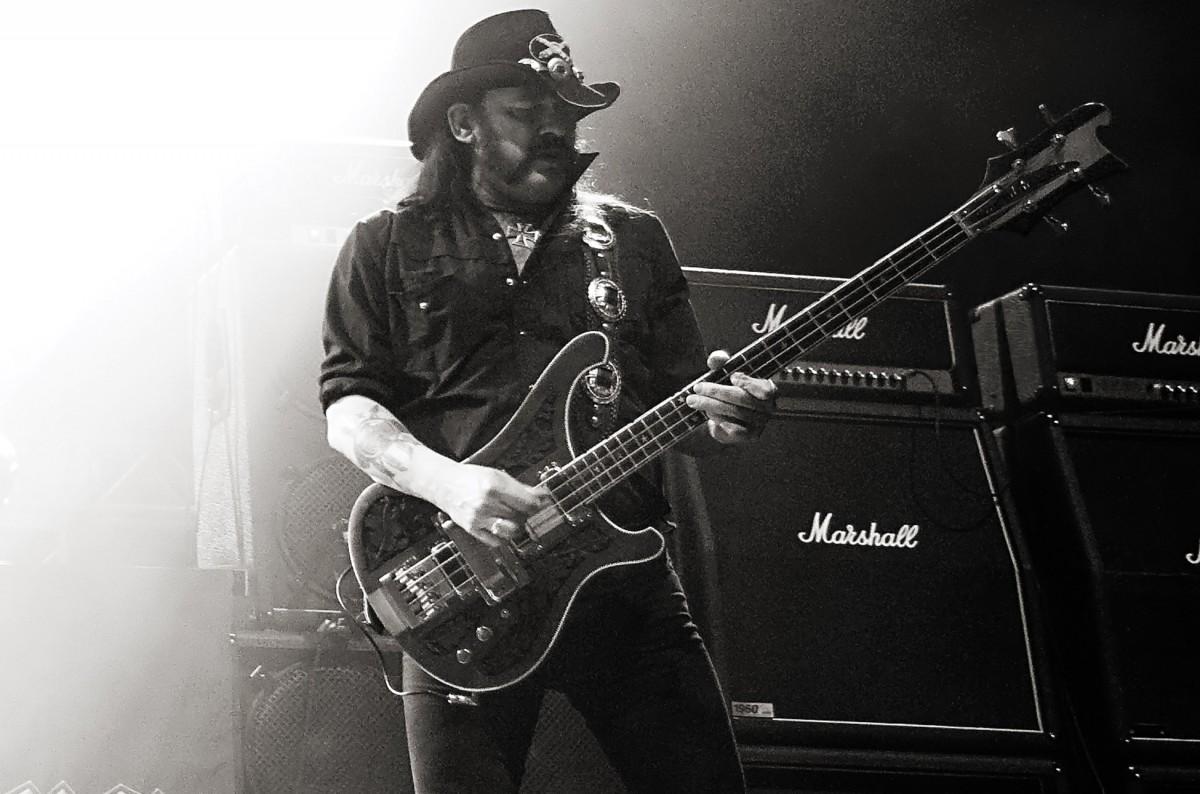 Lemmy - photograph by Mat Hayward