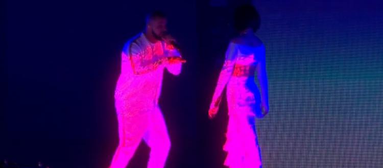 Drake and Rihanna being awful