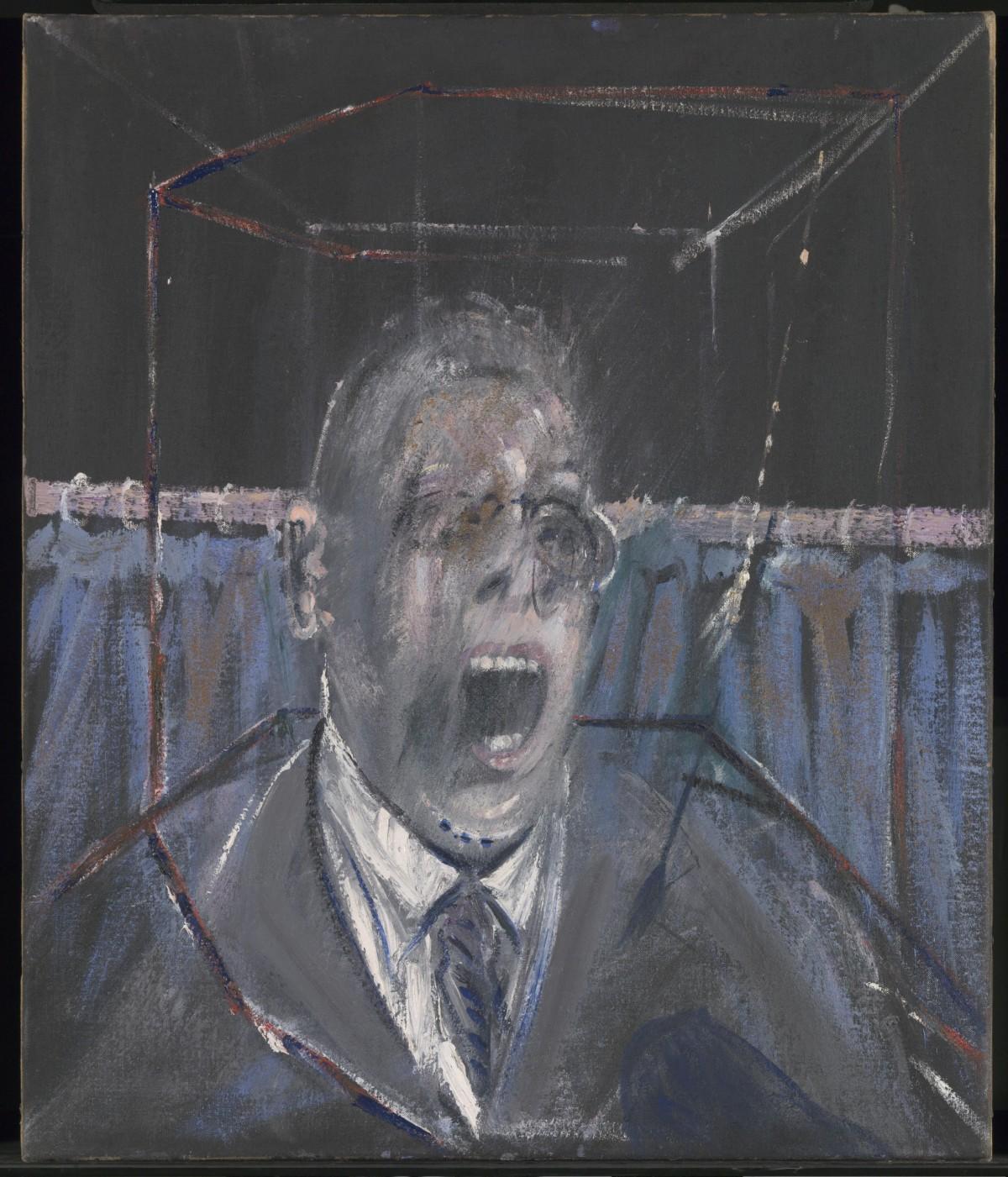 Francis Bacon's Study for a Portrai, 1952