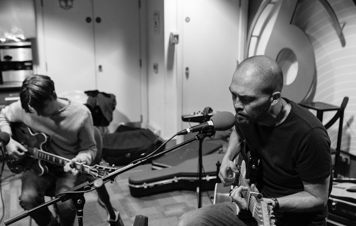 Ben Watt and Bernard Butler
