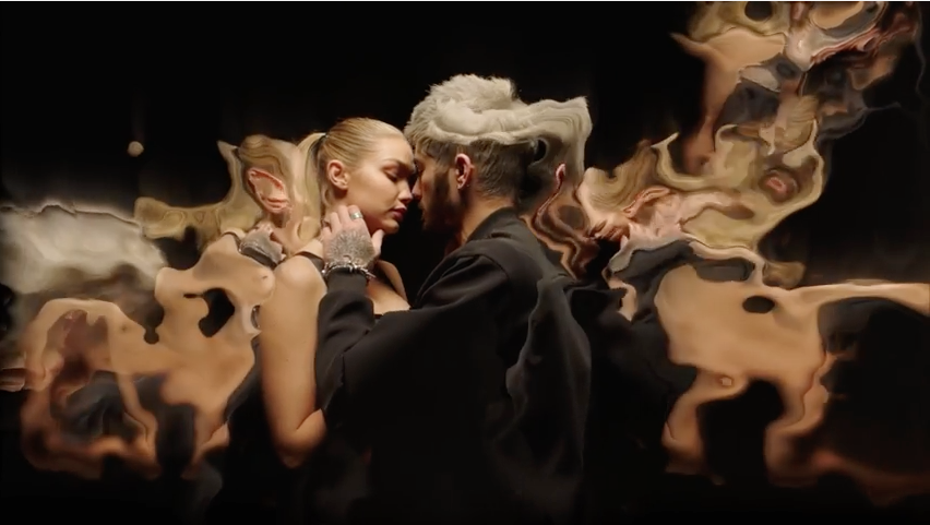 Malik being all weird and shit in his video for Pillowtalk
