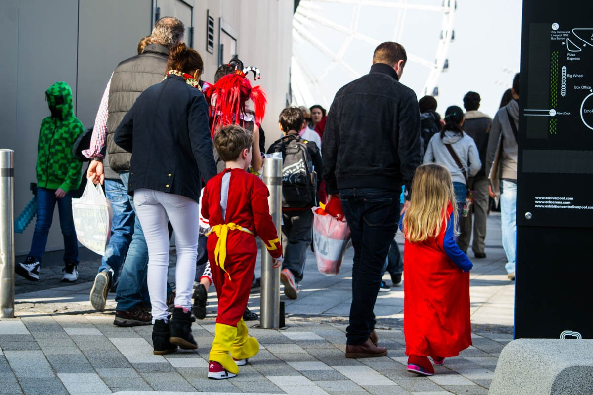 Families are the heroes of Comic Con