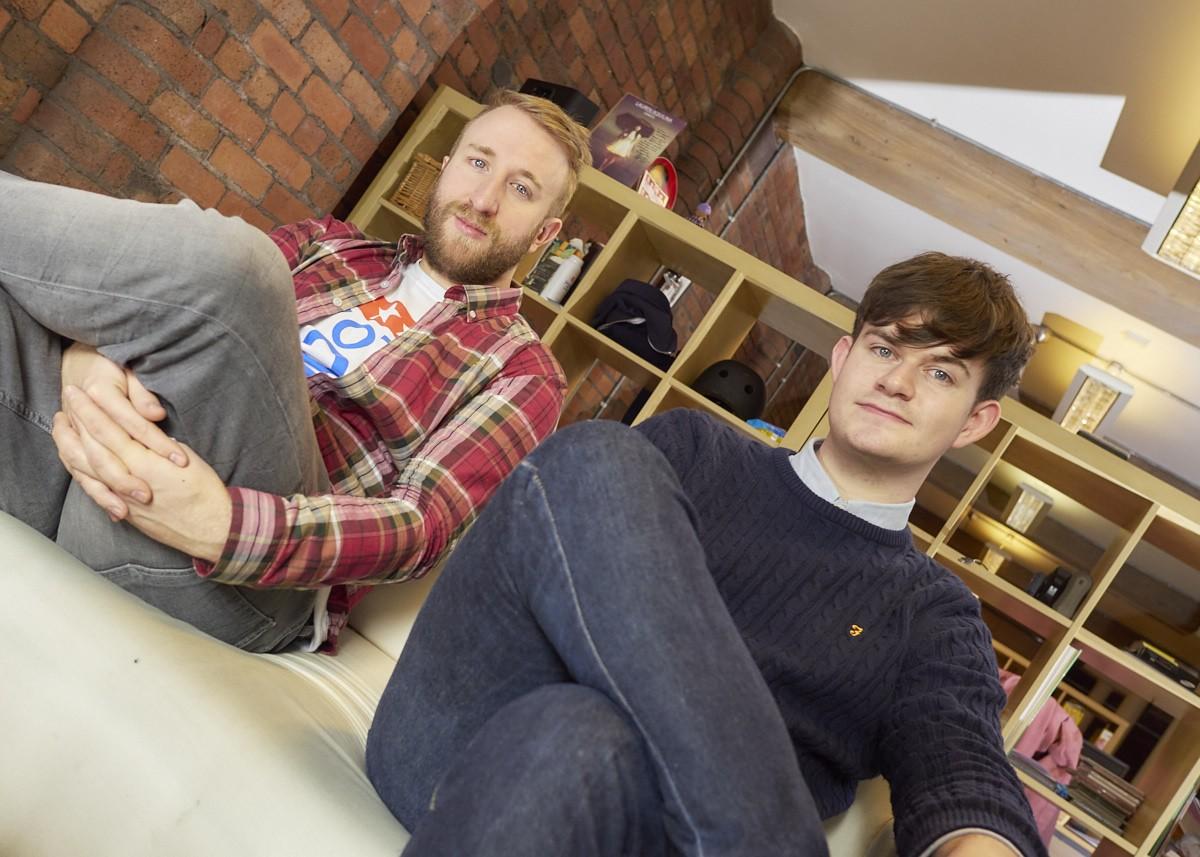 Sentric Music's Simon Pursehouse and Patrick Cloherty