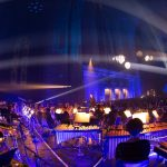 The Liverpool Philharmonic and the Cream lightshow