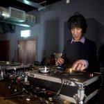 Edgar Jones DJs at Jacardanda Records