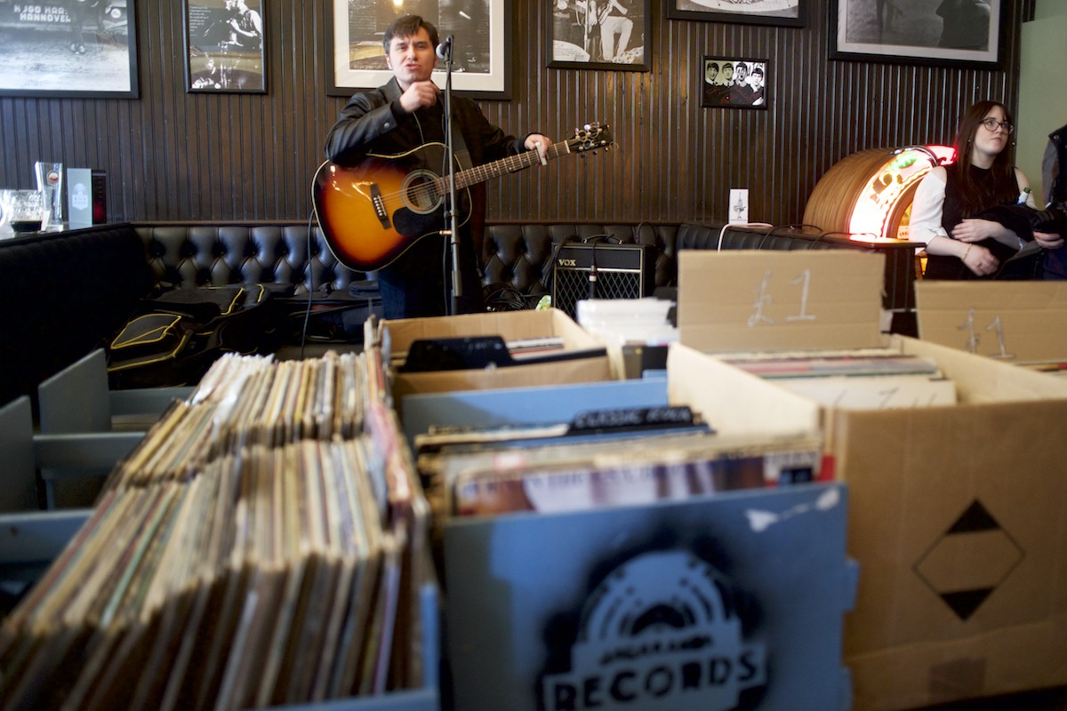 Nick Ellis at Jacaranda Records