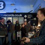 Inspiral Carpets' Tom Hingley performs at 3B Records at Record Store Day 2016